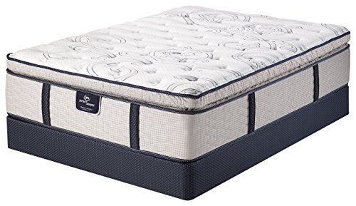 Serta Perfect Sleeper Elite Super Pillow Top Mattress, Cool Action Gel, Pocketed Coil, Motion Isolation, King