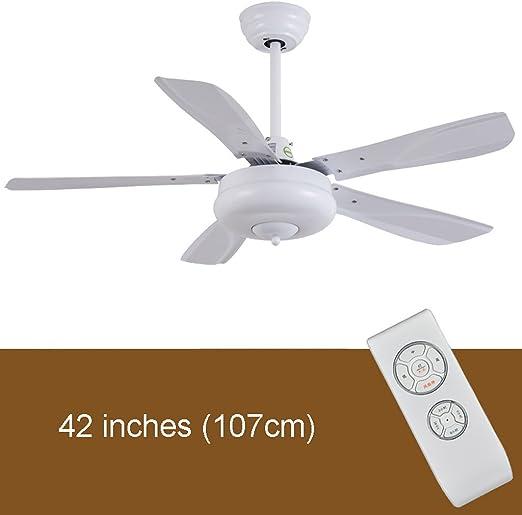 42/56 pulgadas viento mudo comercial ventilador de techo negro ...