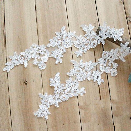 ivory alencon lace wedding dress - 5