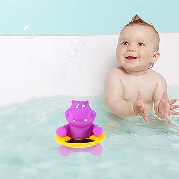 La Pantorrilla Yardwe Term/ómetro de ba/ño Bebe Term/ómetro de Temperatura del Agua para beb/és termometro Agua Bebe