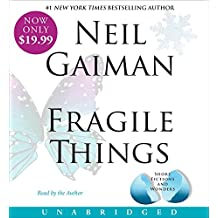 Fragile Things Low Price CD: Stories