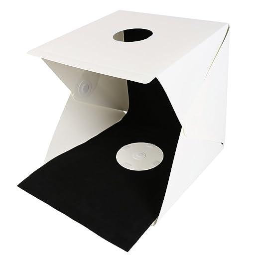 Mini LED Light Room Photo Studio Photography Lighting Tent Backdrop Cube Box UK