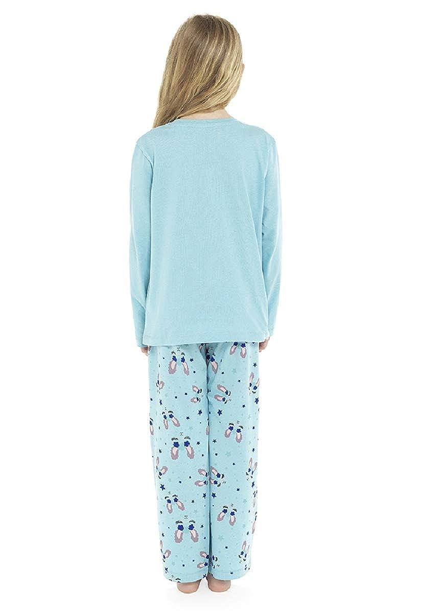 Follow That Dream Childrens//Girls No Drama Llama Pyjama Set