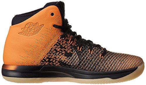 Nike Herren Air Jordan XXXI Basketballschuhe Schwarz / Schwarz-Starfist