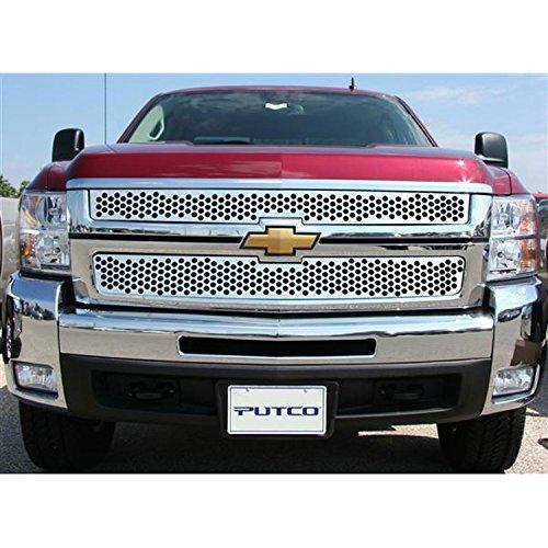 Putco 84195 Punch Billet Grill - Putco Punch Billet Grille