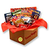Military Care Package - Games and Snacks Gift Box