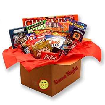 Family Gift Basket Its A Game Night Care Package