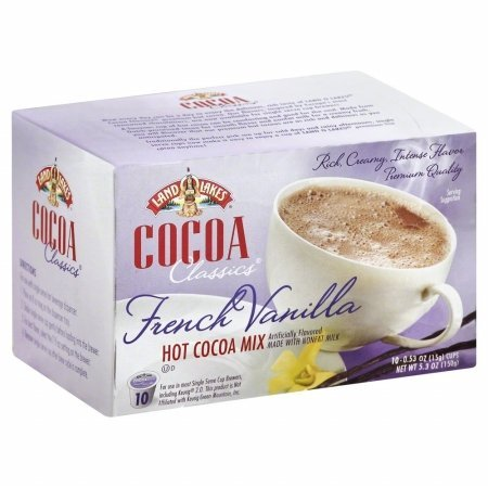 Land O Lakes 266708 5.3 oz. Cocoa Single Serve French Vanilla, 10 Count