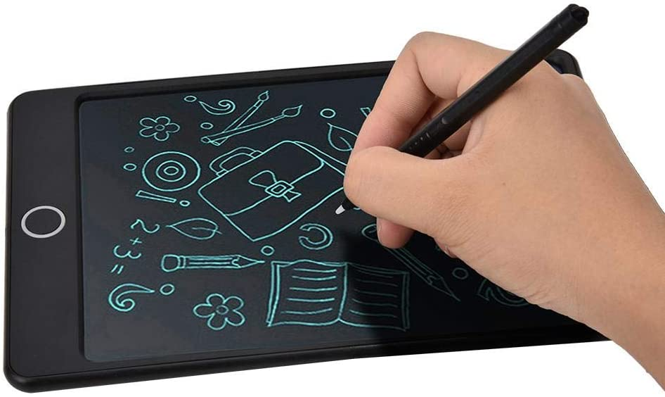 Diyeeni 8.5 inch LCD Handwriting Board,Drawing Tablet with Pen for Children//Kids,Muiti-Functional Board for Memo List,Reminder Note,Practice Painting//Arithmetic//Writing Black