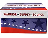 Warrior Supply Source Recycled Copy Paper 92 Bright 20LB 8-1/2 x 11 5000 Shts/CT