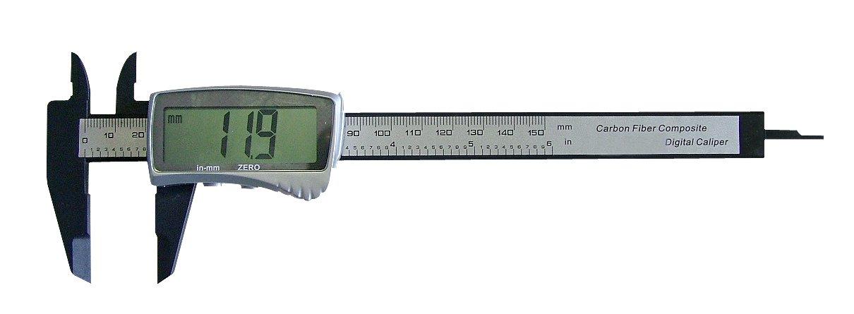 Metrica 10745 CALIBRE DIGITAL FIBRA CARB CAP 0-150 0, 1 mm