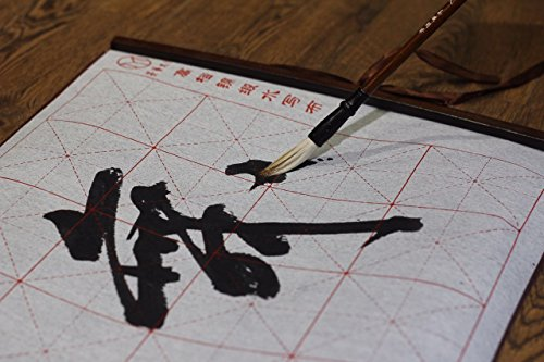 2500 Painting and Calligraphy Art Gridded Magic Cloth Water-Writing for Practicing Chinese Calligraphy or Kanji
