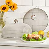 Brylanehome Round Mesh Dish Covers, Set Of 2