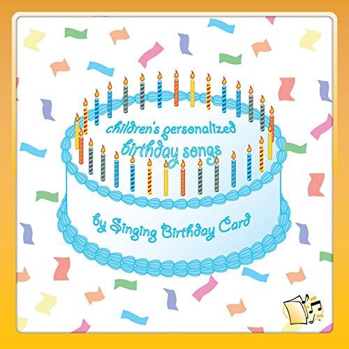 Amazon happy birthday ava childrens singing birthday card happy birthday ava childrens bookmarktalkfo Image collections