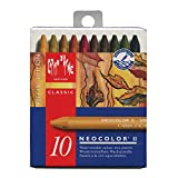 CREATIVE ART MATERIALS Neocolor II 10 Watersoluble Crayon Set-Autumn (7500.913 )