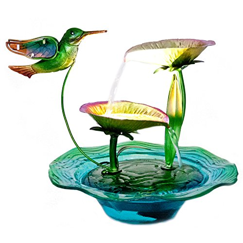 ReLIVE 12 Inch Indoor Electric Cascading Tabletop Water F...