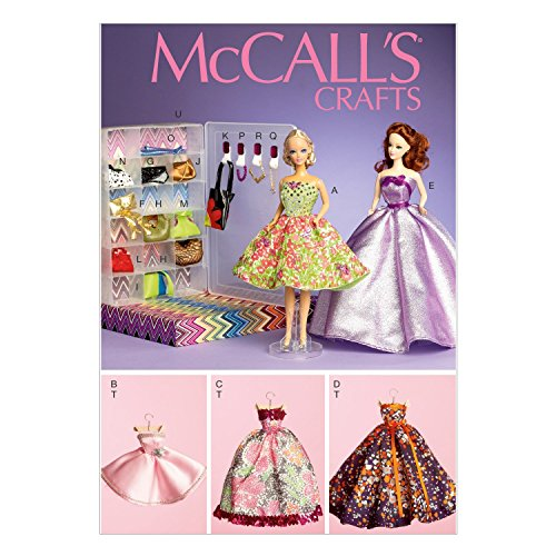 - McCall's Patterns M6903OSZ Toy Clothes and Doll Accessories, for 11.5