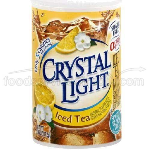 Crystal Light Iced Tea - 0.96 oz. canister, 12 canisters per case by Crystal Light
