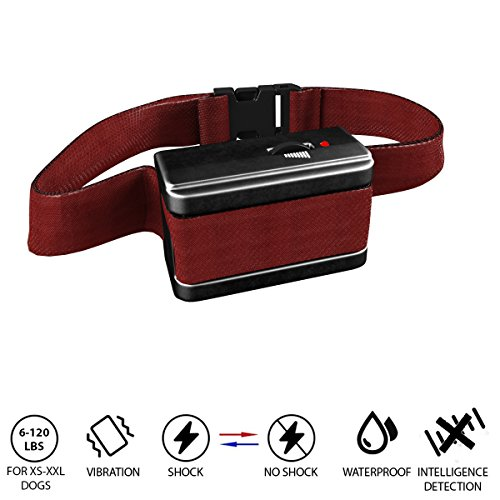 Agility Dog Collar ([NEW 2018 VERSION] Bark Collar with UPGRADED Smart Chip - Best Intelligent Dog Shock, Beep Anti-Barking Collar. No Bark Control for Small / Medium/Large Dogs - Safe Stop Barking Device (Bark2))