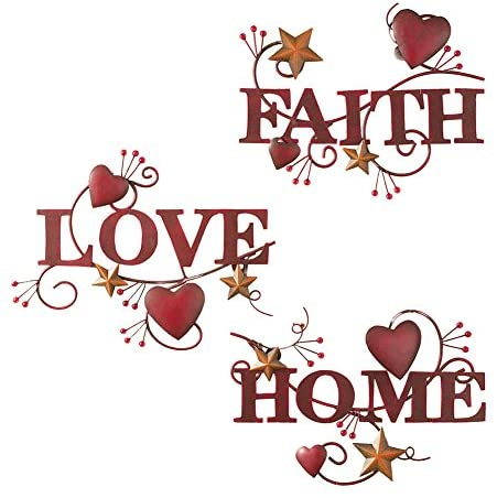 Collections Etc Home Faith Metal product image