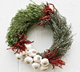 McFadden Farm Culinary Garlic and Herbs Wreath