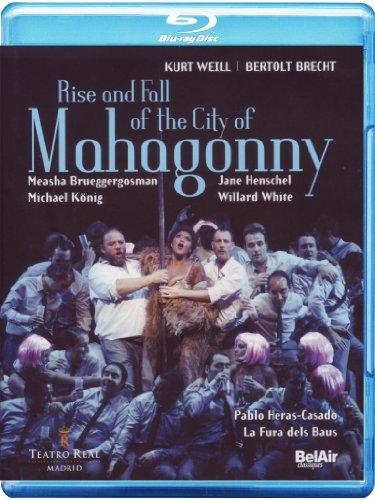 Pablo Heras-Casado - Rise & Fall: Mahagonny (Blu-ray)