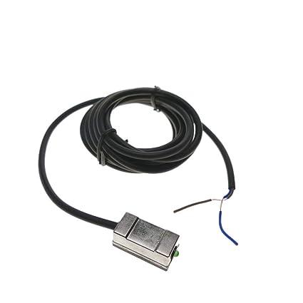 BeMatik - Sensor interruptor de proximidad inductivo magnético 5-50 V AC/DC NO