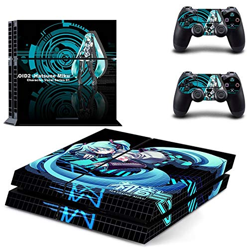 Anime PS4 Console and DualShock 4 Controller Skin Set by okanhyeu - PlayStation 4 Vinyl