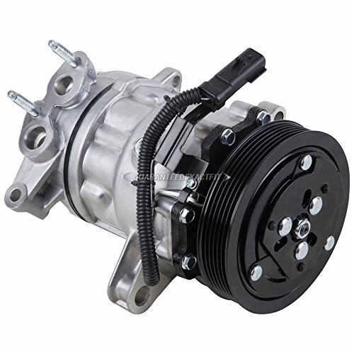 AC Compressor & A/C Clutch For Jeep Liberty V6 2002 2003 2004 2005 - BuyAutoParts 60-01581NA New