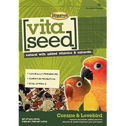 Higgins 466149 Vita Seed Conure-Lovebird 5Lb (1 Pack), One Size