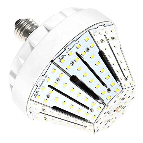 KAWELL 30W LED Corn Light Bulb, Street and Area Light,E26 Medium Screw Base, 3000-3500K (Warm White), Replacement for 200W-300W Metal Halide Bulb, HID, CFL, HPS, 360° Beam, UL Listed