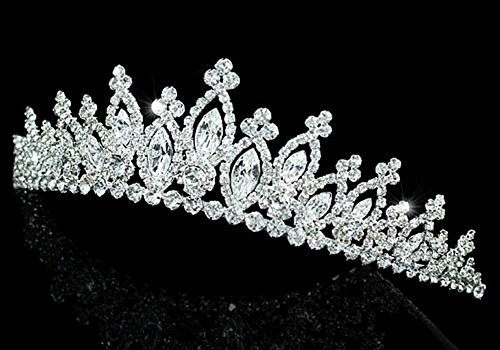 Exquisite Bridal Sparkling Quality Tiara Crystal