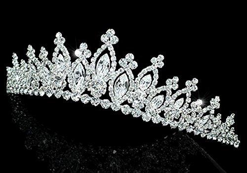 Exquisite Bridal Sparkling Quality Tiara Crystal