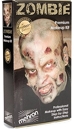 [Mehron Zombie Makeup Kit] (Zombie Halloween Costume Makeup)