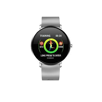 WULAU Impermeable Reloj Inteligente con Cronómetro, Pulsera ...