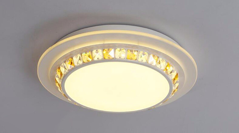 LighSCH Luces de techo Led minimalista moderno cristal de ...