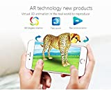 AR Augmented Reality 4D Flash Cards-Interactive Educational Game 108 Pcs with AR painting book by KIWI deisgn