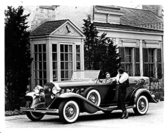 1932 Cadillac V8 Phaeton Factory Photo