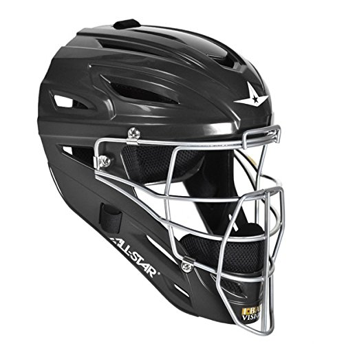 All Star System 7 Catchers Helmets Fits 7-7 1/2 Black (Catchers System 7)