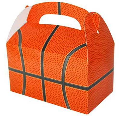 24 BASKETBALL TREAT BOXES 2 DOZEN BY DISCOUNT PARTY AND -