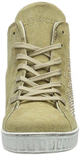 CAFèNOIR Em610 - Zapatillas de cuña Mujer Beige