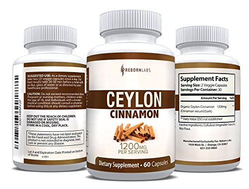 Organic Cinnamon Capsules Healthier Supplement product image
