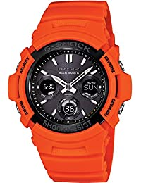 "CASIO G-SHOCK ""Rescue Orange Series"" AWG-M100MR-4AJF japan import"