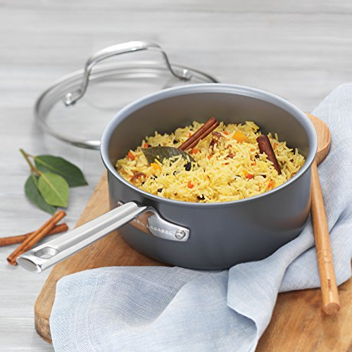 Emeril Lagasse 62920 Dishwasher safe Nonstick Hard Anodized 12 Piece Cookware Set ,Gray by Emeril Lagasse (Image #16)