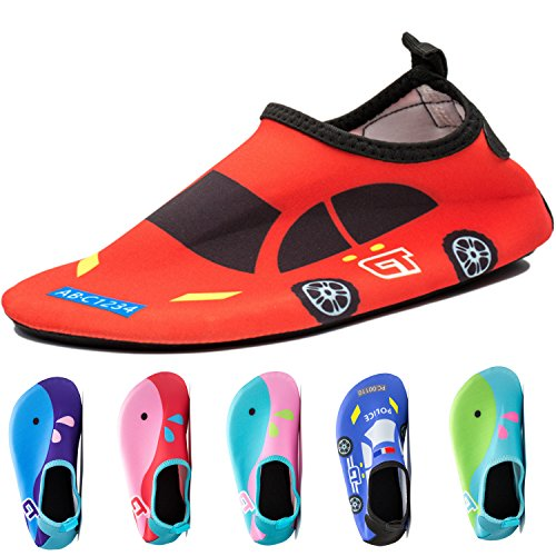 Kids Baby Infant Swim Shoes Water Shoes Beach Shoes Barefoot Aqua Socks for Beach Pool Surfing Yoga