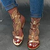Flat Beach Sandals Shoes for Womens Ladies Fashion