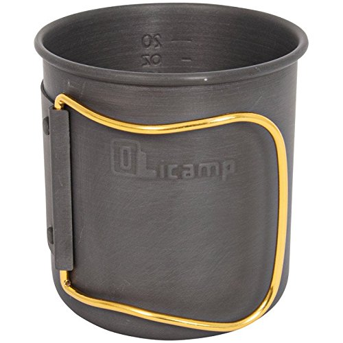 SPACE SAVER MUG HARD ANODIZED Aluminum Mug