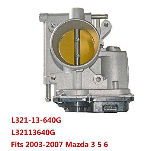 Throttle Body L321-13-640G L32113640G for 2003-2007 Mazda 3 Mazda 5 Mazda6