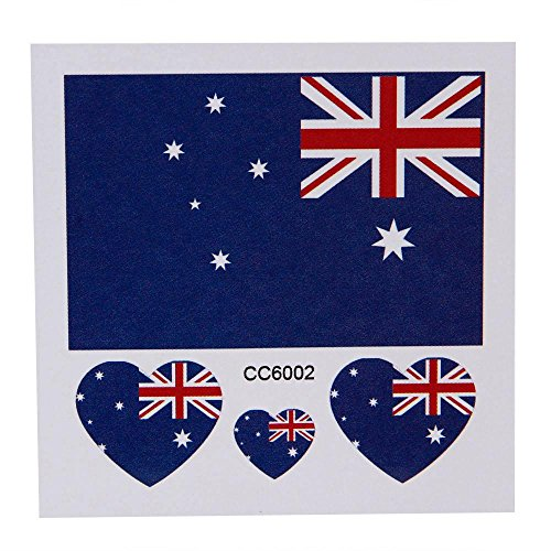 Yoyorule Nation Flag Temporary Tattoo Body Face Sticker Flags - Fashion Face Australia
