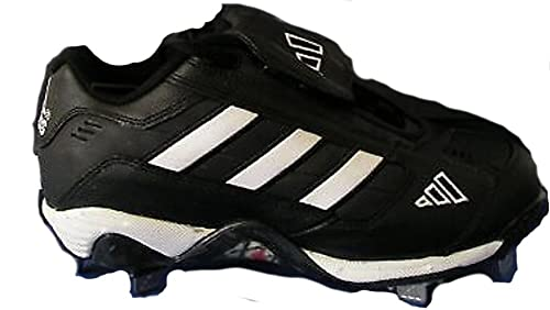 adidas Excelsior Women s American Baseball Cleats Shoes Black White ... 727a43e3620b